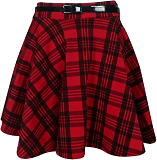 7479c6d0285d38 Amazon.fr : jupe carreaux rouge