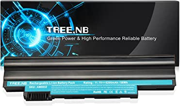 Tree.NB High Performance Battery Replacement for Acer Aspire One D255 D257 D260 D270 E100 360 522 722 Al10a31 Al10b31 Al10bw Al10g31 AOD255 AOD257 AOD260 Notebook Battery - 24 Months Warranty