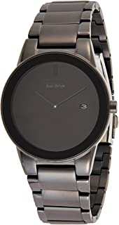 Citizen Men Black Dial Stainless Steel Band Watch - aU1065-58E