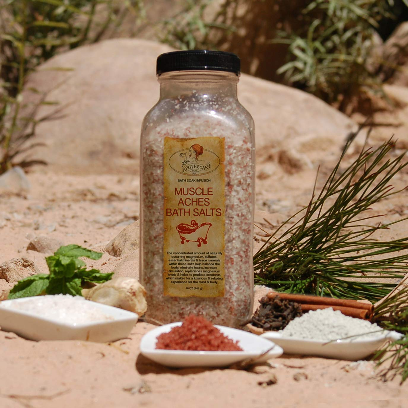 Muscle Aches Dedication Max 72% OFF Bath Salt Infusion