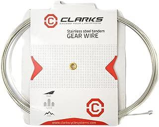 Clarks C/âble de Frein arri/ère pour Tandem Argent/é//Rouge 305/cm