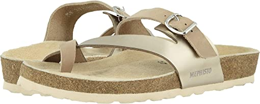 Light Taupe Nubuck/Platinum Star
