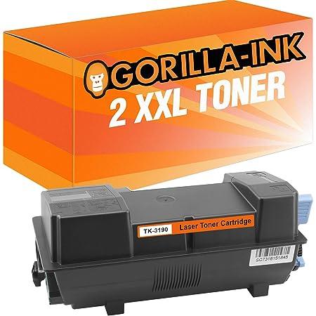 Gorilla Ink 1 Toner Xxl Für Kyocera Tk 3190 Black Ecosys M 3655 Idn M 3660 Idn P 3055 Dn P 3060 Dn M3655idn M3660idn P3055dn P3060dn Bürobedarf Schreibwaren