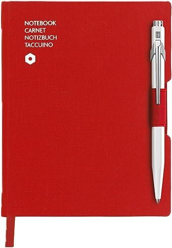 suministro de productos de calidad Caran d-Ache 8491.453 - Cuaderno (Adulto, 192 192 192 hojas, rojo, A6, Tapa dura, Mate)  hasta un 70% de descuento