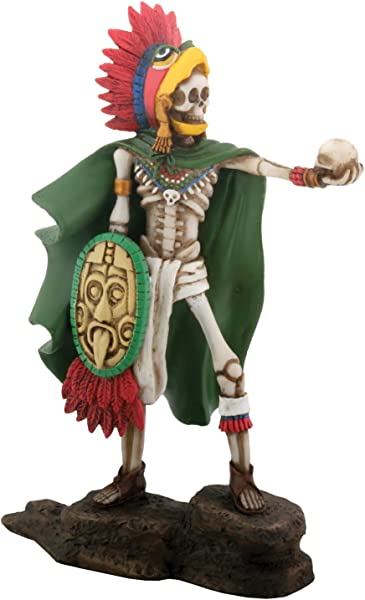 YTC Aztec Eagle Warrior Skeleton With Shield