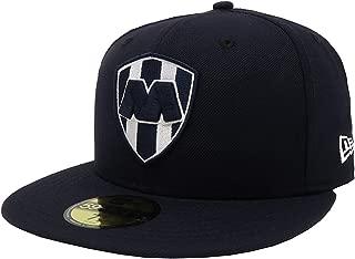 New Era 59Fifty Hat Rayados De Monterrey Liga Mexicana Navy Blue Fitted Cap