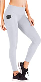Ewedoos Yoga Pants with Pockets for Women Ultra Soft Leggings with Pockets High Waist Workout Pants