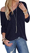 YOINS Suéter Punto Mujer Invierno Jersey Cuello en V Camiseta Manga Larga Jerséis Basico Suelto Jerseys Camisa Mujer Primavera Otoño