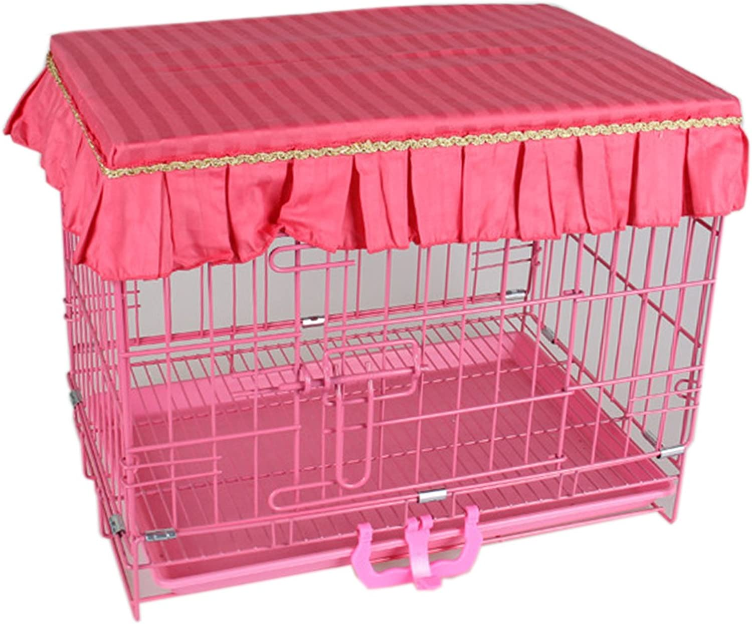 Alfie Pet  Slate Pet Top Crate Cover  color  Red, Size  S