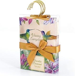 LA BELLEFÉE Scented Sachet Coconut Vanilla Fragrance Packets Sachet 4Packs Perfume Envelopes Sachets, Idea Gift for Home, ...