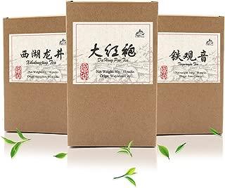 Luxtea Classical Chinese Da Hong Pao Tea Big Red Robe Oolong Black Rock Tea Pack of 10 Teabags