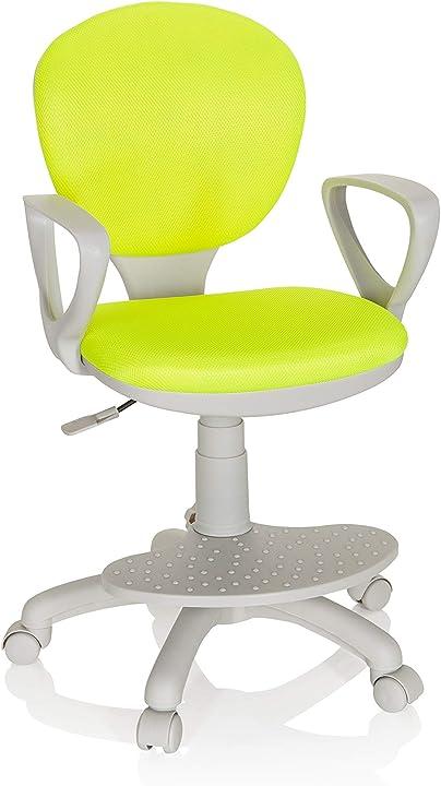 Sedia da scrivania arredo studio, standard hjh office 671011