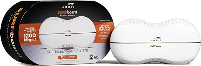 ARRIS Surfboard AC1200 Wi-Fi Router with RipCurrent Using G.hn (SBR-AC1200P)