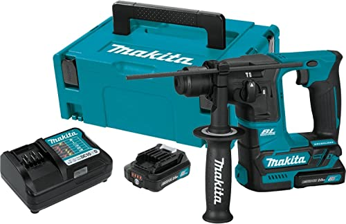 """2021 Makita RH01R1 12V wholesale max CXT sale Lithium-Ion Brushless Cordless 5/8"""" Rotary Hammer Kit outlet online sale"""