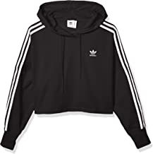 adidas Originals Women's Cropped Hooded Sweatshirt