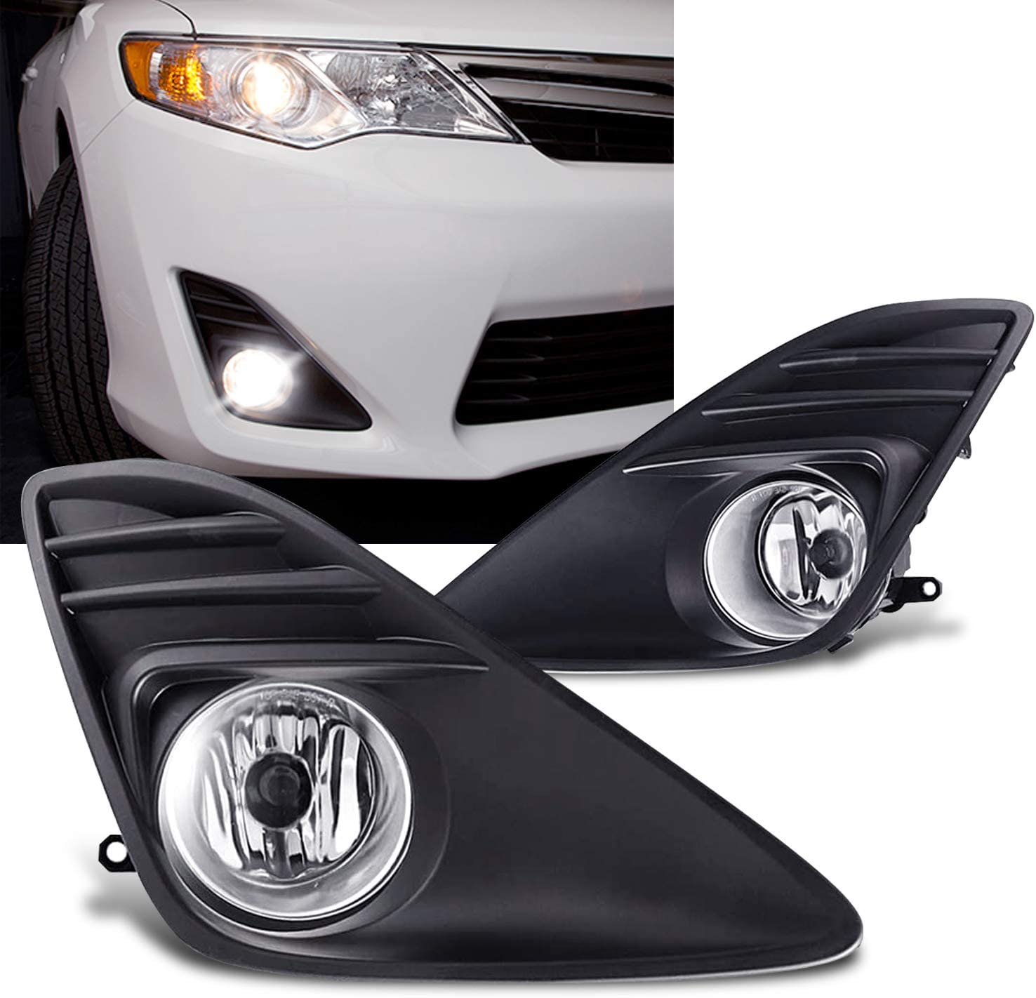 Extrordinary excellence Living Compatible With 2012-2014 Fog Ki Purchase Camry Light