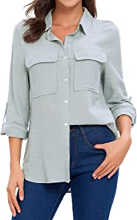 Best button down blouses for women Reviews