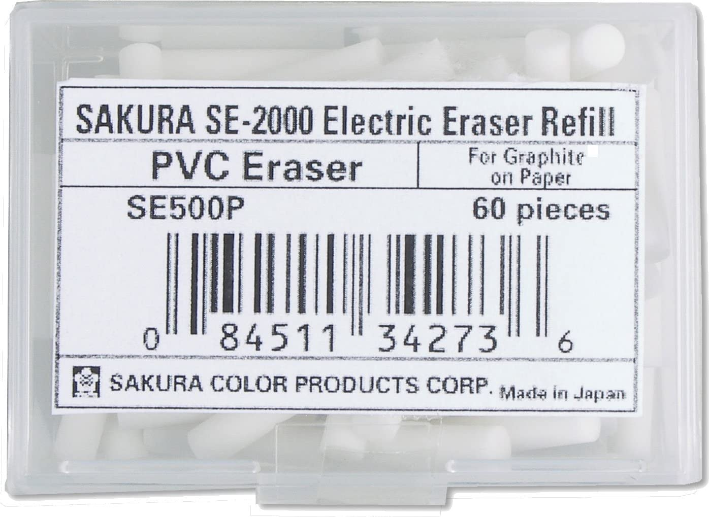 Sakura Electric Eraser Max 44% OFF Refill New arrival White. 2 Pack of Counts 120