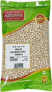 Natures Choice White Peas Matar Whole - 500 gm