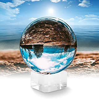 Grab Classy 80 mm Crystal Ball with Black Gift Box and Velvet Pouch