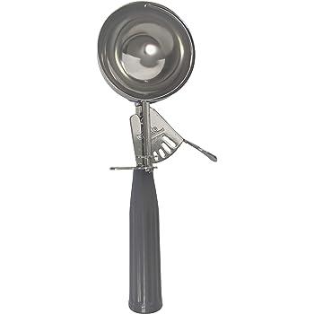 Update International (DP-8) 4 oz Stainless Steel Disher,Grey