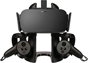 VR Stand,Headset Display Holder and Mount for Oculus Rift or Rift S Headset and Touch Controllers