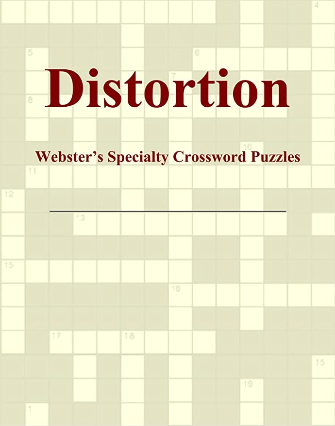 リマスローダイバーDistortion - Webster's Specialty Crossword Puzzles