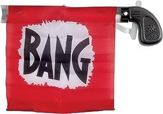 Loftus Star Power Starter Prank Bang Gun Flag Pistol, Red/Black/White, 5