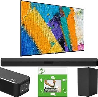 LG OLED77GXPUA 77 inch OLED TV GX Class Smart 4K Ultra HD 2020 Model w/Gallery Design & AI ThinQ Bundle SN5Y Sound Bar w/D...