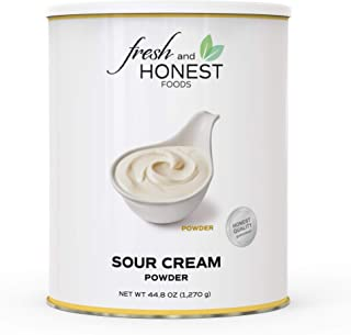 Fresh and Honest Foods Sour Cream Powder 44.8 OZ #10 Can