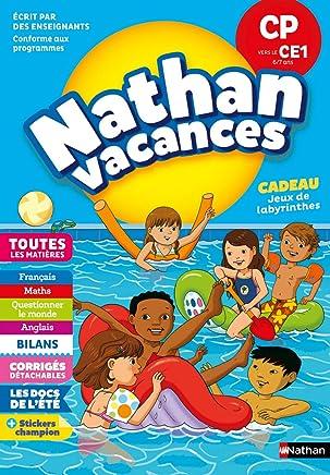 Cahier de Vacances 2019 du CP vers le CE1 - Toutes les Matières - Nathan Vacances - 6/7 Ans