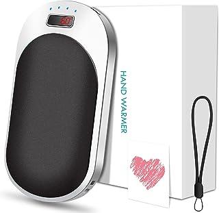 Chauffe-Mains Rechargeable, 9000mAh USB Chauffe-Poche Électronique, Chauffe-Mains Réutilisable, Power Bank Portable, Chauf...
