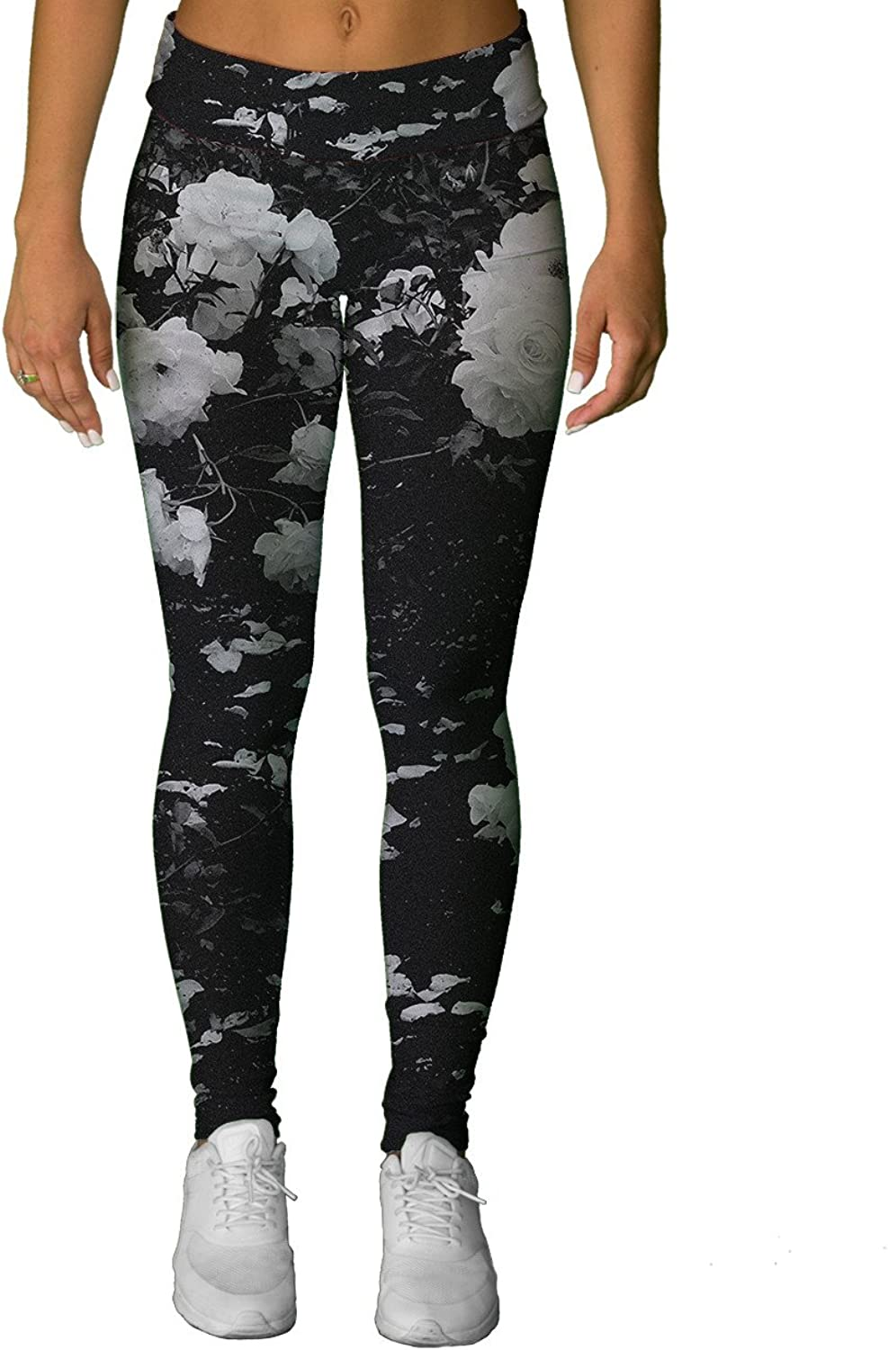 INTO THE AM Black pink Premium All Over Print Leggings
