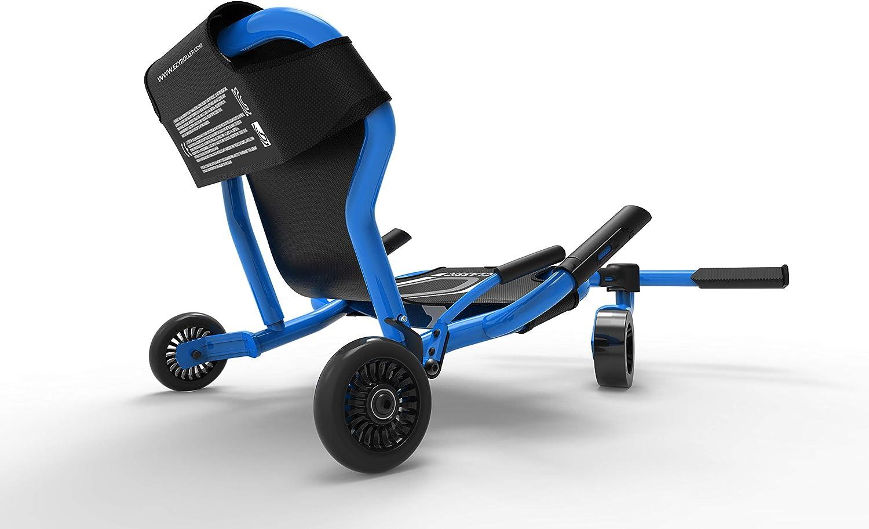 Ezyroller Kinderfahrzeug Dreirad Classic X Trike Kinder Sitz Scooter Ezy Roller (schwarz) Blau