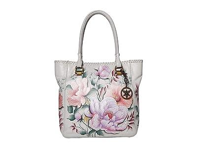 Anuschka Handbags Large Shopper 609 (Bel Fiori) Handbags