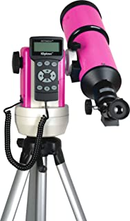 iOptron 9802P-A SmartStar-R80 GPS Computerized Telescope - Pulsar Pink with Carry Bag