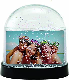 Neil Enterprises Clear Horizontal Photo Snow Globe - Case of 36