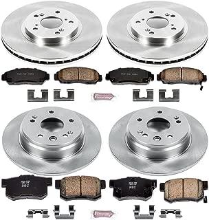 Power Stop K2308 Rear Brake Kit with Drilled//Slotted Brake Rotors and Z23 Evolution Ceramic Brake Pads