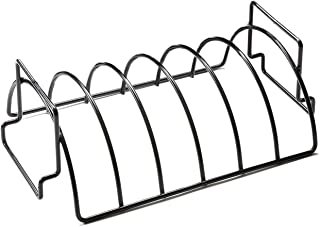 Outset QD50, 9.75 x 14.75 x 5.25 inches, Non-Stick Reversible Roast and Rib Rack
