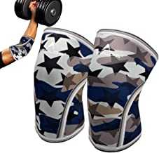 Elbow Sleeves(Pair),Perfect Support for Squat,Crossfit,Weightlifting,Powerlifting,Tennis, Golf & Basketball(Large)