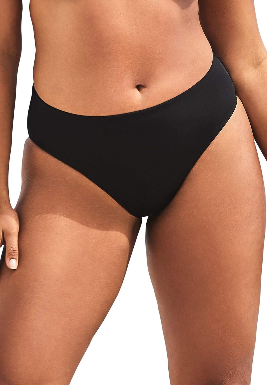 Swimsuits For All Women's Plus Size Fearless High Waist Bikini Bottom