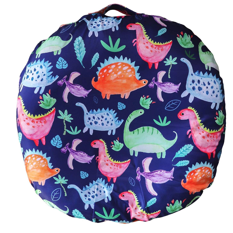 Dinosaur Lounger Cover for Newborn, Lounger Pillow Case for Babies, Snug Fitted Removable Slipcover, Babynest Cover for Boys & Girls, Lovey Super Soft Snug Fitted, (Lounger Pillow Not Included)