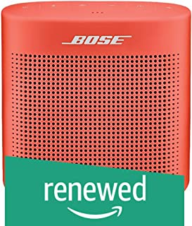 Bose 752195-0400 SoundLink Color Bluetooth Speaker II - Coral Red (Renewed)