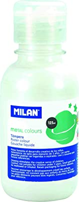 Milan 033410 - Témpera, 125 ml, color stardust white