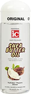 Fantasia Ic Hair Polisher Shea Butter Oil, 6 Ounce