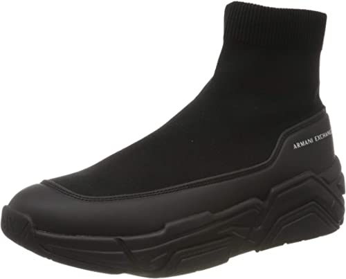 Armani exchange socks sneakers, scarpe da ginnastica uomo XUZ029XV260K001