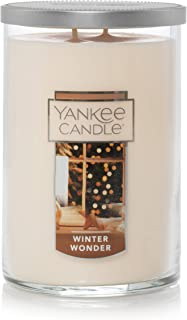 Yankee Candle Large Jar 2 Wick Winter Wonder Scented Tumbler Premium Grade Candle Wax with up to 110 Hour Burn Time