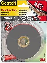 Scotch montagetape dubbelzijdig, extreem sterk, grijs 19mm x 5m grijs