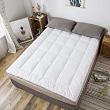 4cm Thick Twin Mattress Pad Breathable Cotton Quilted Mattress Futon Furniture Cotton Foam Fiber Traditional Japanese Floo...