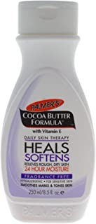 Palmer's Cocoa Butter Formula Daily Skin Therapy Body Lotion with Vitamin E, Softens Smoothes, Fragrance Free, 8.5 Fl Oz